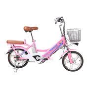 Xe đạp điện Topbike Ecooper mini (Màu hồng)