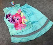 Đầm Bé Gái My Little Pony 8-10t xanh