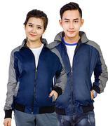 Áo khoác dù nam nữ phối màu thời trang SID39233