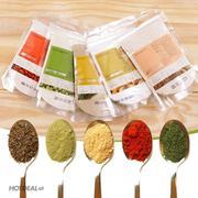 Combo 5 Loại Bột (Đậu Đỏ + Đậu Xanh + Cám Gạo + Bột Yến Mạch + Khoai Tây) Milaganics