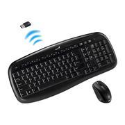 Bộ bàn phím + Chuột không dây Genius kb 8000X (Đen)