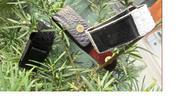 Bao điện thoại da bụng cá sấu