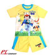 Bộ Thun Bé Trai 1-5 Pokemon