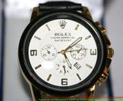 Đồng hồ dây da nam 3 mặt Ro phong cách sang trọng DHNN107