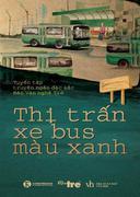 Thị trấn xe bus màu xanh