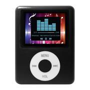 Máy nghe nhạc MP4 vuông MN41703D Đen