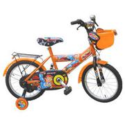 Xe đạp trẻ em 2 bánh Robi M912 màu cam đen, cho trẻ từ 6~10 tuổi