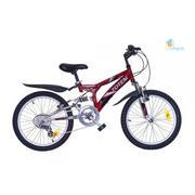 Xe đạp trẻ em Totem 1140 màu đỏ đen