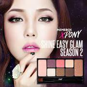 Pony Shine Easy Glam Eyeshadow Palette