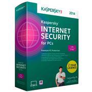 Bộ phần mềm diệt virus Kaspersky Internet Security 2014 (1 năm / 3 máy)