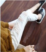 quần jeans boy friend rách