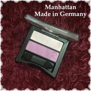 Phấn mắt Manhattan MAGIC DUO ( 2 màu ). Made in Germany