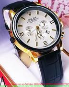 Đồng hồ nam dây da Ro 3 mặt đẳng cấp sành điệu DHNN112
