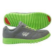 Giày TM Nam Prowin TM1401 - Xám/Xanh lá