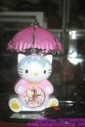 Đồng hồ đèn ngủ báo thức Hello Kitty đáng yêu DHBT4