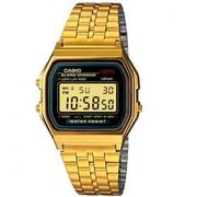 Đồng hồ dây thép không gỉ Casio A159WGEA-9ADF (Vàng)