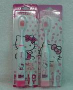 Bàn chảy đánh răng bằng pin Hello Kitty