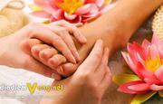 Massage Chân Cùng Lotus Spa