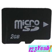 Thẻ nhớ điện thoại MSD 2GB(msd2g)