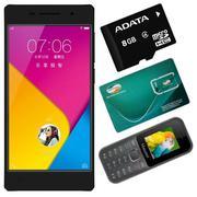 Bộ 1 Vivo Y51 16GB (Đen) + 1 Masstel A10 + 1 Sim Viettel + 1 Thẻ Nhớ 8GB + 1 Đèn Led USB + 1 Móc Khó...