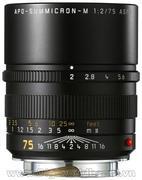 Leica Telephoto 75mm f/2.0 APO Summicron M Aspherical
