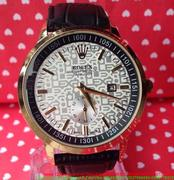 Đồng hồ nam dây da Ro phong cách sành điệu DHNN114