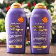 Dầu gội và xả Biotin Collagen kích thích mọc tóc (577ml)