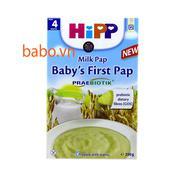 Bột ăn dặm dinh dưỡng sữa ăn dặm khởi đầu Hipp 4m - 250g