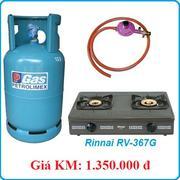 Bộ bếp đôi RINNAI RV-367G