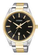 Đồng hồ nam dây thép không gỉ Citizen BI1034-52E (Bạc viền vàng)