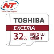 Thẻ nhớ MicroSDHC Toshiba Exceria 32GB Class 10 48MB/s không Box (Đỏ)