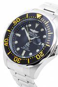 Đồng hồ nam dây thép không gỉ Invicta 14654 (Bạc)