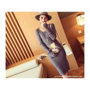 Đầm len chân váy xẻ tà - GS180 - DL2478