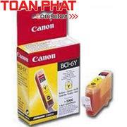 Mực in Phun màu Canon BCI - 6Y (Yellow) - Màu vàng - Dùng cho Canon iP-3000, 4000, 5000, 6000D, S-83...