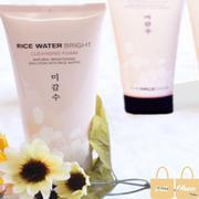 Sữa Rửa Mặt Sáng Da Rice water bright The Face Shop
