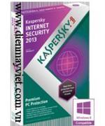 Kaspersky Internet Security 2013 3PCs -Intl Edition/1 Year