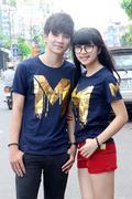 Thun Couple Logo Chữ Số