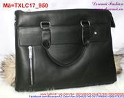 Túi xách laptop thiết kế sang trọng phối khóa kéo TXLC17