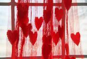 Rèm cửa phòng ngủ hình trái tim