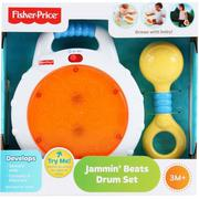 Bộ Trống vui nhộn Fisher Price Jammin' Beats Drum