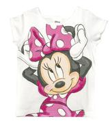 Disney® Minnie Mouse Infant Toddler Girls´ Short Sleeve Tee 5t