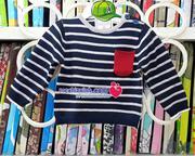 Áo len kẻ ngang bé trai size 6 tháng đến 3 tuổi hàng Zara made in Cambodia