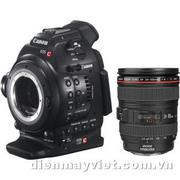 Máy quay Canon EOS C100 Cinema EOS Camera with 24-105mm f/4L Lens     Mfr# 6340B010