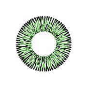 Kính Giãn Tròng Premium Queen Green (Xanh Lá Nữ Hoàng) 14,5Mm - 15Mm