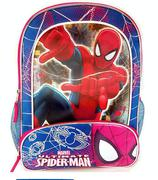 Marvel Ultimate Spider-Man Backpack with Two Side Mesh Pockets