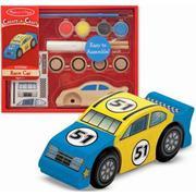 Bộ tô màu và thiết kế xe đua số 51 bằng gỗ ME4575