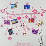 Bộ khung ảnh treo tường trái tim hồng 2 BinBin KA20 (Nhiều màu)