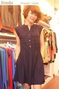 Đầm sơmi Zara Basic