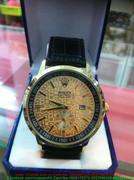 Đồng hồ nam dây da nửa kim quay phong cách sang trọng DHNN94