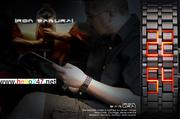 Đồng hồ led Samurai bụi bặm DHCN4